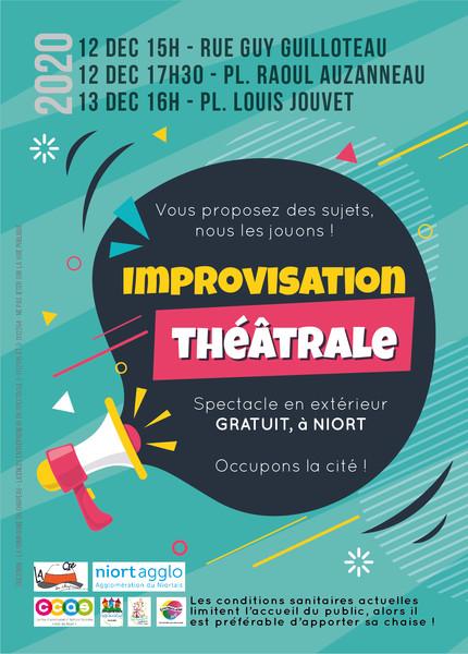 Improvisations théâtrales - annulées