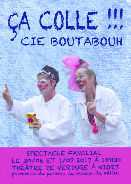 Spectacle clowns : Ça colle !
