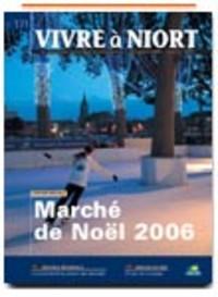 couverture Magazine vivre à niort : Numéro de Décembre 2006