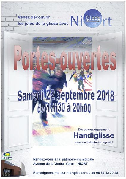 Patinoire : Portes ouvertes du club NiortGlace