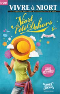 couverture Magazine vivre à niort : Numéro de l'été 2010
