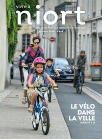 couverture Magazine vivre à niort : Numéro d'octobre 2019