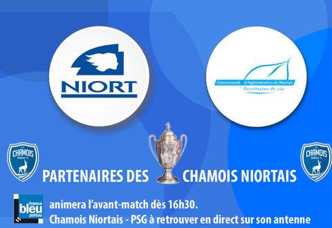 Ville de Niort et NiortAgglo partenaire des chamois Niortais