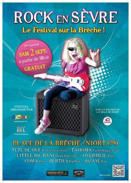 Festival : Rock en Sèvre