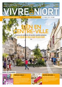 couverture Magazine vivre à niort : Numéro d'octobre 2015