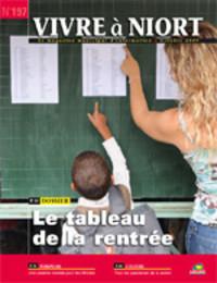 couverture Magazine vivre à niort : Numéro d'octobre 2009