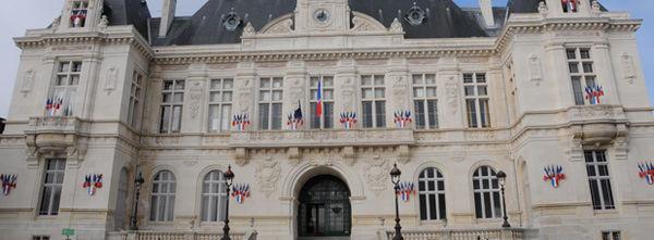 Photo de la façade de l'Hôtel de Ville de Niort