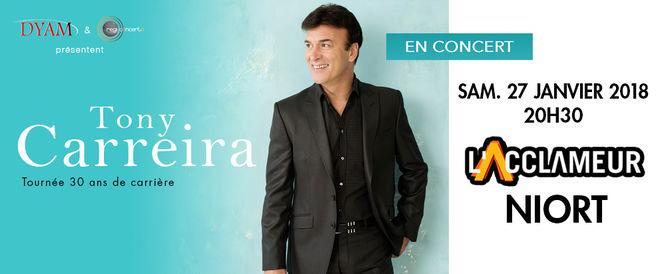 Concert : Tony Carreira