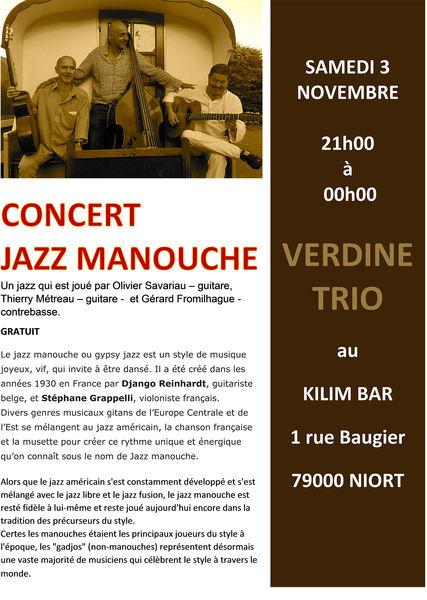 Concert : Jazz manouche