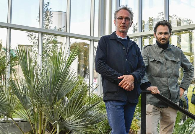 Loïc Mareschal et Franklin Azzi ©Darri