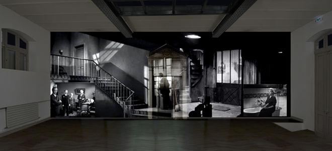 Installation vidéo : Le Clouzoscope interactif