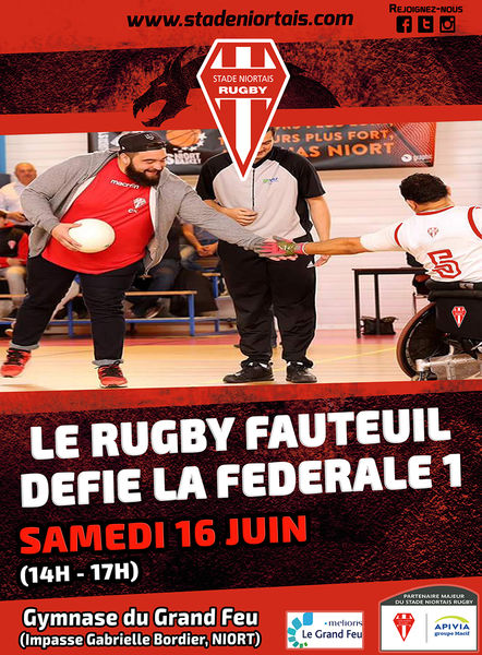 Rugby Fauteuil : Challenge Jean Jubien