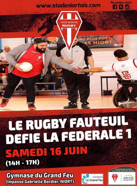 Rugby Fauteuil : Challenge Jean Jubien