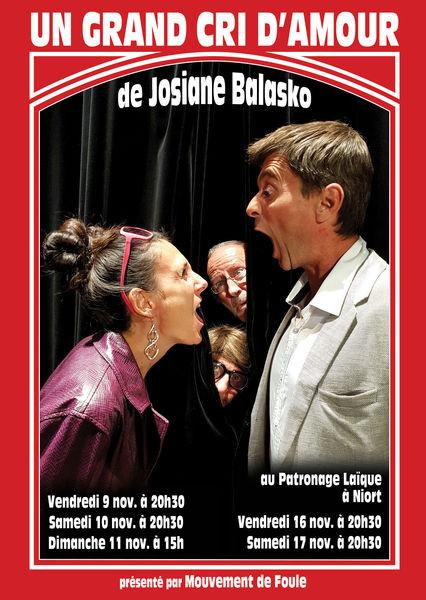 Théâtre : Un Grand cri d'Amour