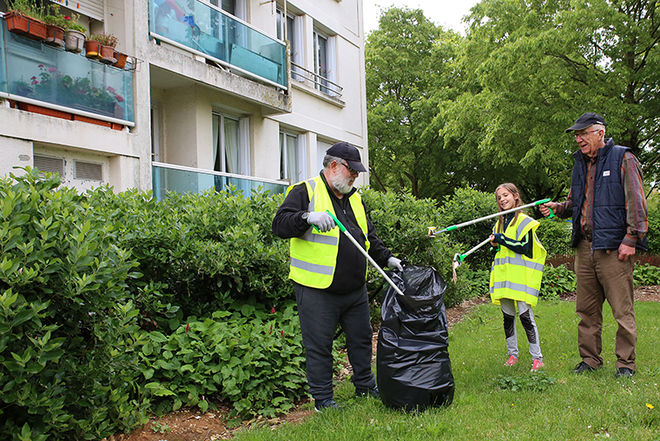 Journée citoyenne de la propreté, 13 mai 2017 ©ODrihlon