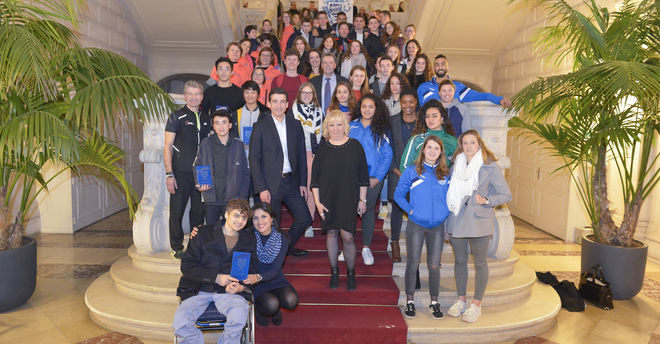 Cérémonie Trophées des Sports 2017, 1er mars 2018 à l'Hôtel de Ville ©Darri
