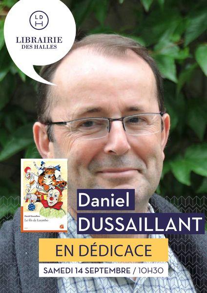 Signature avec Daniel Dussaillant