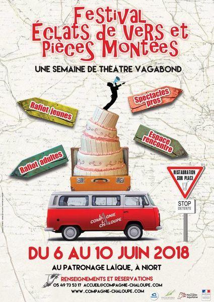 Théâtre : festival Eclats de Vers et Pièces Montées