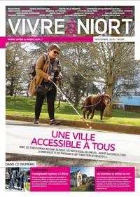 couverture Magazine vivre à niort : Numéro de Novembre 2015