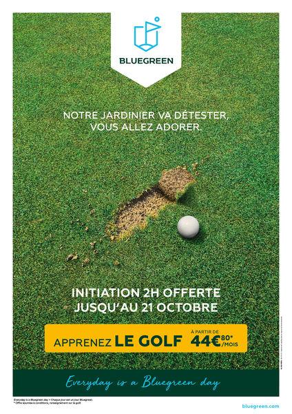Découvrez le golf: Initiation 2h gratuite