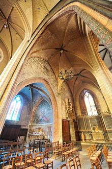 Eglise Notre-Dame, vue intérieure