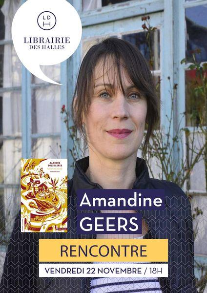 Rencontre : Amandine Geers