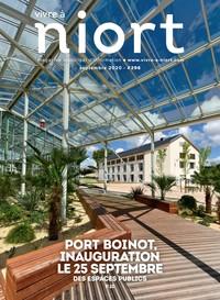 couverture Magazine vivre à niort : Numéro de septembre 2020
