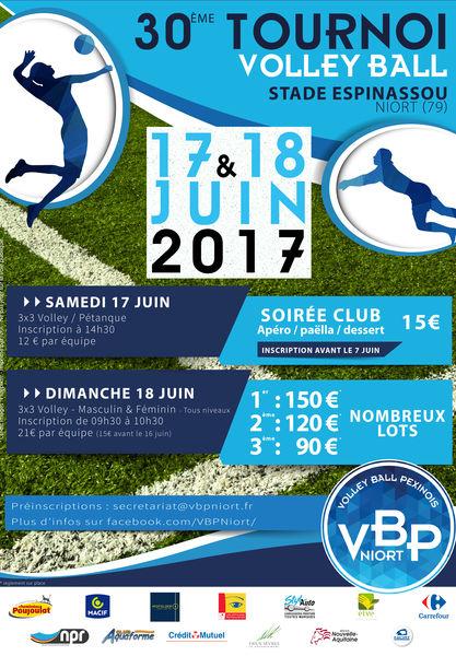 30e édition du Tournoi de volley-ball des Deux-Sèvres
