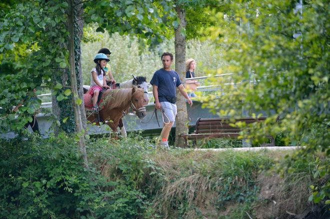 Niort Plage : Balade à poney