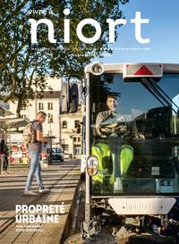 couverture Magazine vivre à niort : Numéro d'octobre 2016