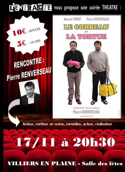 """Théâtre : """"Le Corbeau et la Tortue"""""""