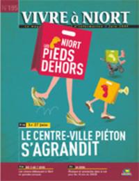 couverture Magazine vivre à niort : Numéro de juin 2009
