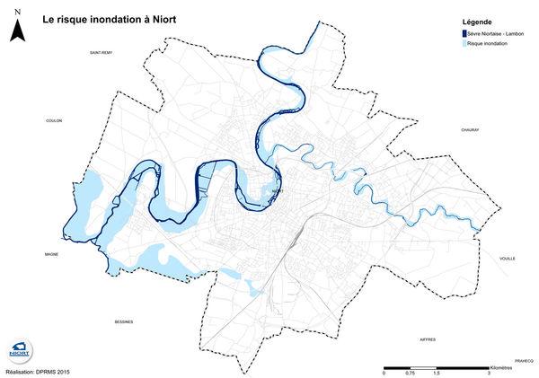 Carte inondation