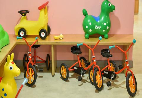 Illustration article : Un lieu d'échanges pour les parents et leurs enfants est ouvert au Pôle enfance de l'Orangerie