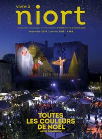 couverture Magazine vivre à niort : Numéro de décembre 2018