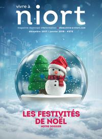 couverture Magazine vivre à niort : Numéro de décembre 2017