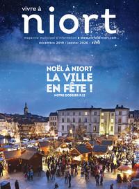 couverture Magazine vivre à niort : Numéro de décembre 2019