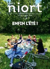 couverture Magazine vivre à niort : Numéro d'été 2020