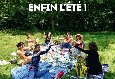 Illustration article : Vivre à Niort d'été est sorti