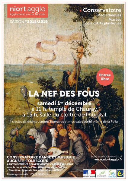 Concert : La Nef des fous