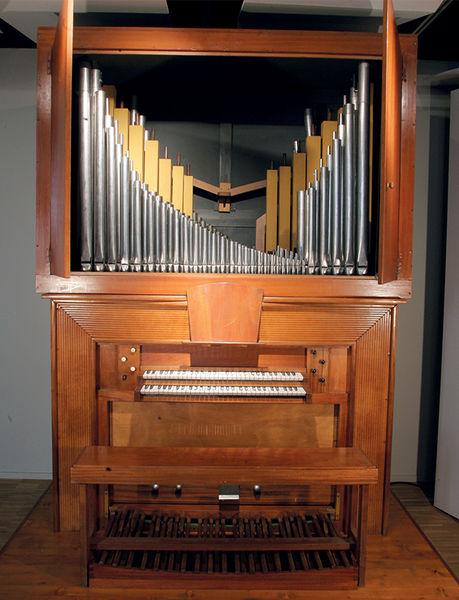 Fête de la musique au musée Bernard d'Agesci : orgue Pierre Chéron
