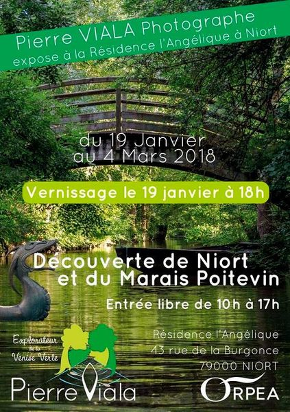 Expo photo : Découverte de Niort et du Marais Poitevin