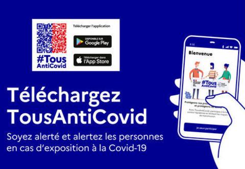 Téléchargez l'application Tous Anti Covid