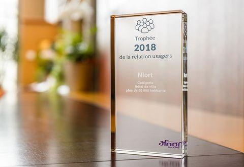 Illustration article : Trophée Afnor 2017 de la relation aux usagers
