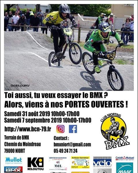 Portes Ouvertes BMX Club Niortais