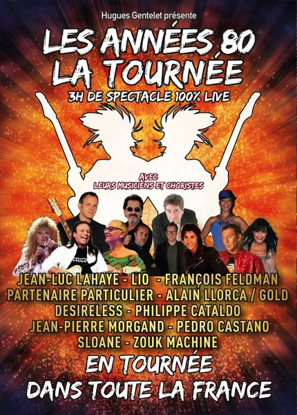 Concert : Les Années 80 à Niort