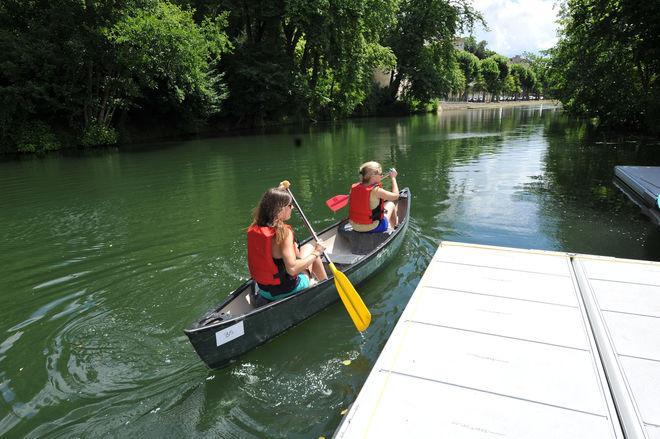 Niort Plage : Canoë - kayak et pédalo