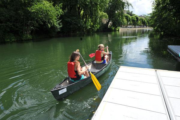 Balade en canoë sur la Sèvre niortaise