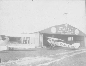 L'aérodrome en 1932