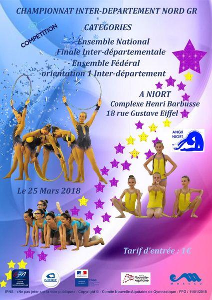 Sport : Gymnastique rythmique